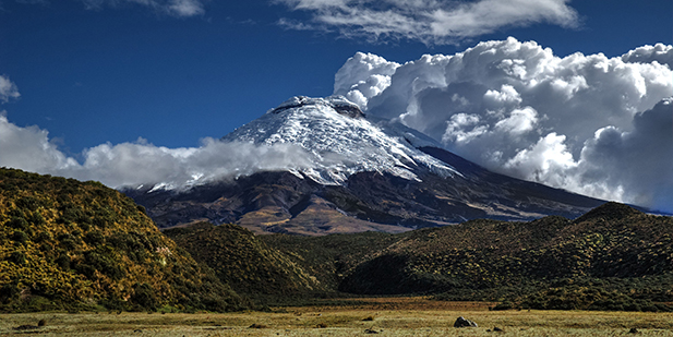 Cotopaxi Mounting traveling with Sierra Tours
